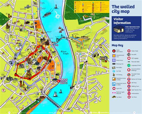 Map Derry City