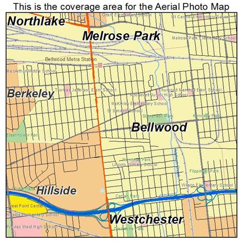Map Of Belwood