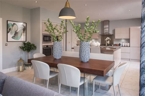 how to decorate open kitchen living room and dining room